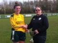 Emer Hickey Captain Ballingarry Ladies 2015-16