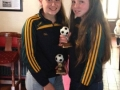 Orla Lynch and Ellen McMahon joint winners most improved U14 girls players