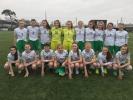 Ireland U15 Womens Squad. Nicole McNamara NO. 5
