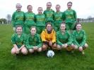 WFAI U16 Girls National Cup Semi Final – Hanover Harps (Carlow) 7 Ballingarry 0