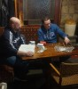 Chairperson David O Hanlon and Joe Condron conducting the draw.Chairperson David O Hanlon and Joe Condron conducting the draw.
