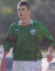 Anthony Forde in action for Ireland Under 17s