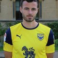 Anthony pictured in his new Oxford United colours