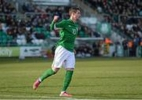Forde celebrates after scoring from the spot v Netherlands Feb 6th 2013