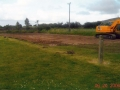 The groundwork begins on the Desmond Leagues first synthetic playing pitch (June 2006)