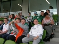 Ballingarry boys and girls at the Aviva Stadium