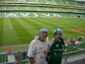James & Nathan Clancy at the Aviva Stadium