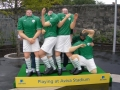 Pa, Cathal, Jack & Aaron get togged out