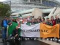 The boys and girls from Ballingarry have arrived