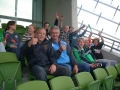 Thumbs up from Paul & Ian at the Aviva Stadium