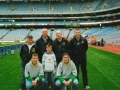 The remainder of the travelling party that accompanied the boys to Croke Park.