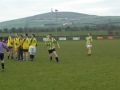 Action from the Over 35's v Past Player XI charity game on St. Stephen's Day 2005.