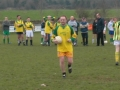 Padraig Kiely prepares to take his penalty in the Over 35's v Past Player XI charity game on St. Stephen's Day 2005.