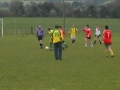 Action from the Ladies v Past Player XI charity game on St. Stephen's Day 2005.