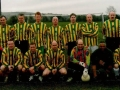 Ballingarry AFC Over 35s team which took on the past player selection on 26th December 2005.