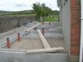 Block work begins