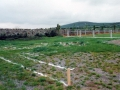 The foundations are marked out for the construction of the clubhouse. Picture taken 23rd May 1998.