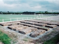 The foundations are paved. Picture taken 28th May 1998.