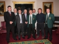 Ballingarry AFCs first committee of 1984/85, pictured at 2009 anniversary celebrations