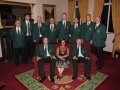 Ballingarry AFC committee 2009/10, at 25th anniversary night