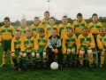The under 10 squad that faced the 'Stingers' in the first ever 'international' game played in Ballingarry.