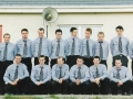 Ballingarry AFC Desmond Cup winning squad, pictured in their cup final suits.