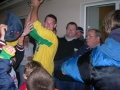 Captain Aidan Barrett lifts the cup for Ballingarry