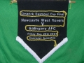 NCW Rovers pennant for the Desmond Cup Final