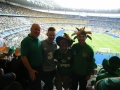 John, Dean ,James and Nathan Clancy at the Sweden game.