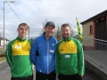Mark Hayes, Tom Hayes and Paul O'Callaghan