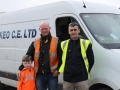 Eamonn Lynch and Padraig Forde with little steward