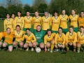 Ballingarry AFC Ladies Squad 2005/06 pictured before kick-off
