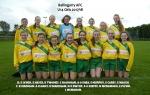 Ballingarry U14 Girls team 2017/18