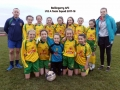 Under 12 Girls A team 2017/18