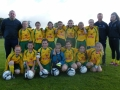 Ballingarry AFC U12 Girls squad 2016/17