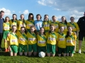 Ballingarry Under 14 Girls League finallists 2016/17