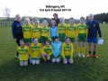 Under 12 Girls B team 2017/18