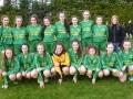 U16 Girls squad 2018