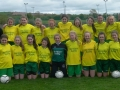 Ballingarry AFC U14 Girls 2014-15.