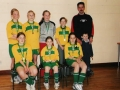 Ballingarry AFC Under 13 Girls Indoor Team - Community Games Silver Medalists - 11th May 2003.