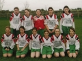 Ballingarry AFC Under 12 Girls team pictured before taking on Kilteely - 30th December 2004.