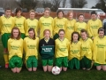 Ballingarry AFC U14 girls squad 2011/12