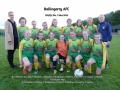 Ballingarry AFC Girls Under 12 Division 1 winners 2019
