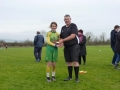 Player of the match Katie Lawlee