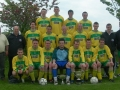 Ballingarry AFC, double winners 2007/08