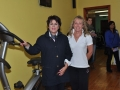 Ann Marie Dunworth and Personal trainer Helena Clancy