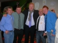 James Cronin, Noel Hayes, Alex McLeish, James Clancy & James Hayes
