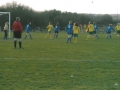 Ballingarry attack from a corner kick during the first half.