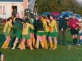 Jubilant scenes as the Ballingarry girls are confirmed as cup winners.