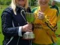 Marie Hoare Chairperson of the Limerick Desmond Ladies league presents cup to Theresa Mulcaire